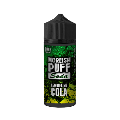 SODA LEMON/LIME COLA BY MOREISH PUFF 0MG SHORT FILL - 100ML